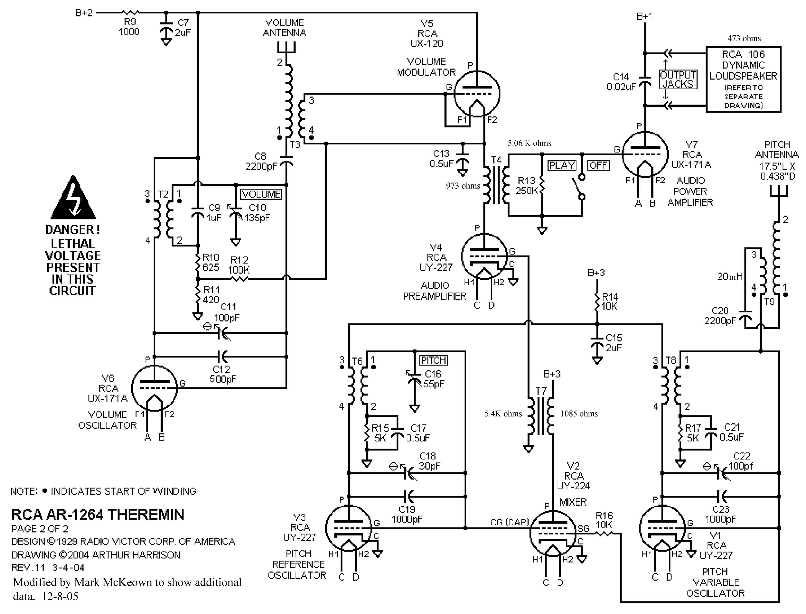 SchematicTheremin theremin world topic theremin circuits scratchpad vga to rca wiring schematic at n-0.co