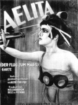 Aelita, Queen of Mars - live soundtrack by S.Letov (saxophone), S.Pushkin (piano), V.Kitlyar (theremin)