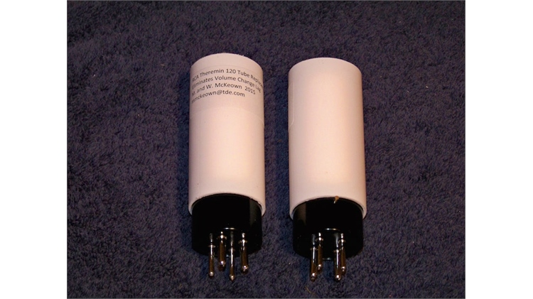 Custom 120 tube for RCA Theremin by Mark McKeown