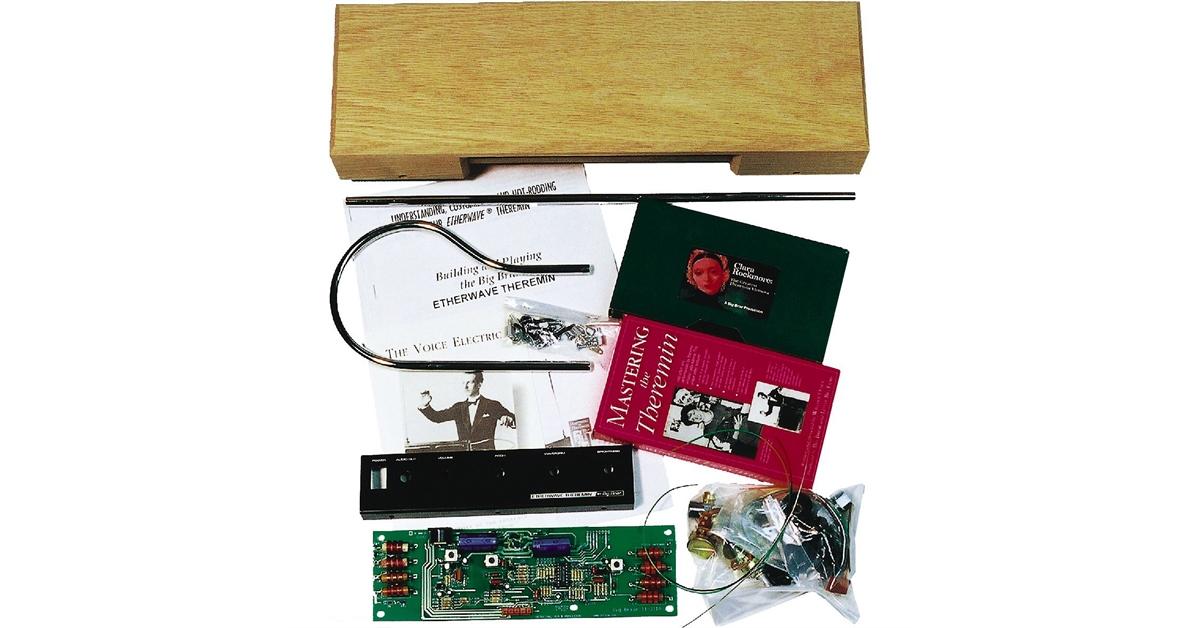 theremin world moog music etherwave standard kit