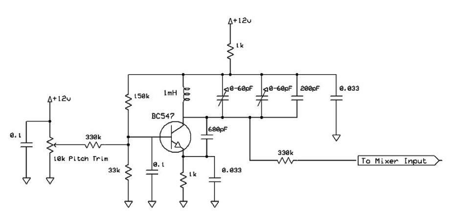 fixed pitch oscillator