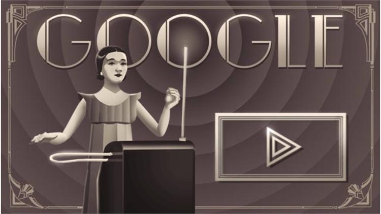 Clara Rockmore Google Doodle