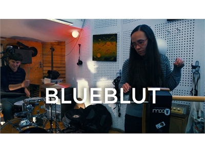 Pamelia Stickney with Blueblut