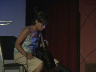 Pamelia Kurstin and the theremin cello