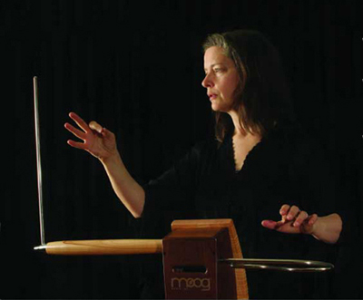 Elizabeth Brown Playing EtherWave Pro