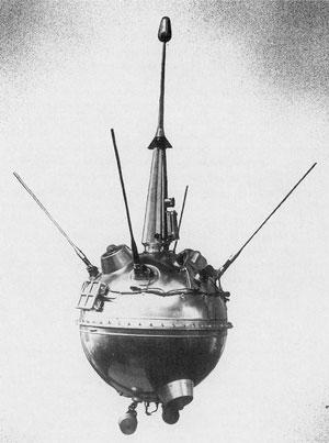 Luna 2 Russian Probe