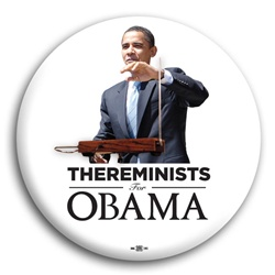 Thereminists For Obama button