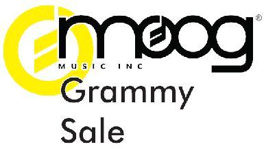 Moog Grammy Sale 2009