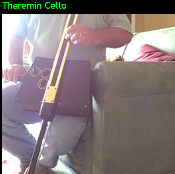 sidecars theremin cello