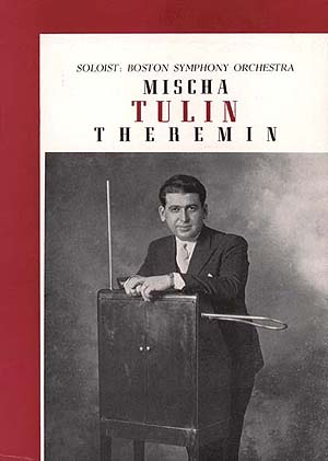 Mischa Tulin BSO Program Cover