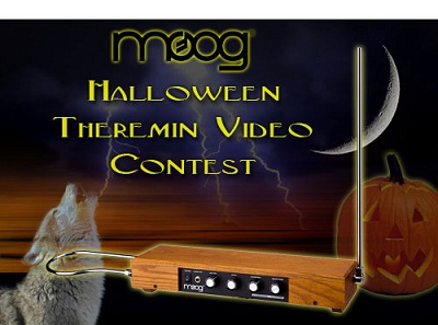 Moog Music Halloween Theremin contest