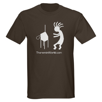 Shop for Theremin World logo gear at CafePress.com