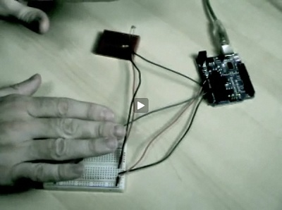 Photoresistor Theremin Controlling Csound