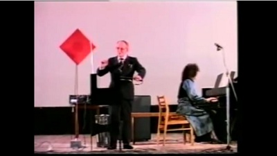 Leon and Natalia Theremin Perform in 1987