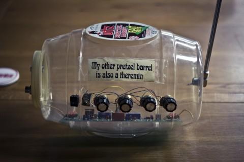 Bob Moog's Pretzel Barrel Theremin