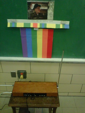 theremin in classroom