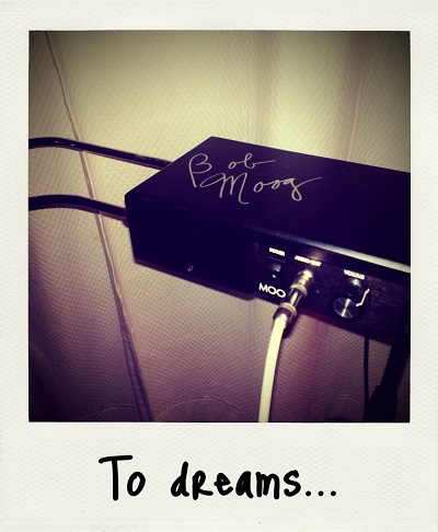 To Dreams... (Moog Signature Series Etherwave theremin)