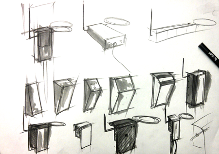 Open.Theremin design concepts