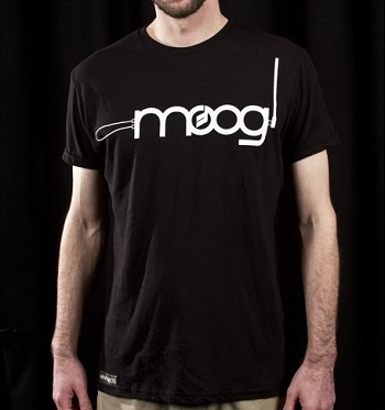 Moog theremin shirt