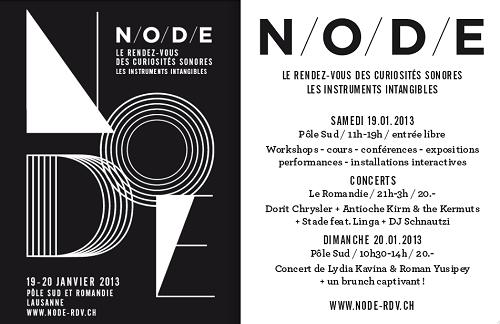 NODE - January 2013