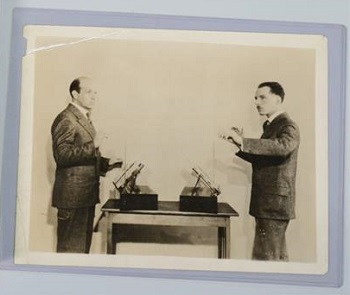 Photo of Leon Theremin