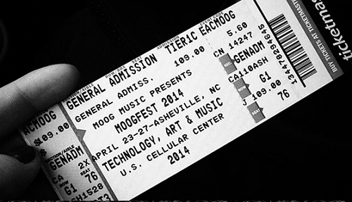 Moogfest 2014 Ticket