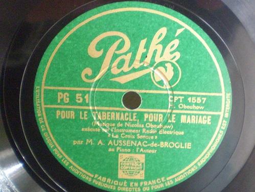 Croix Sonore Record
