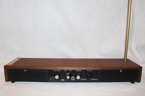 Moog Troubador Theremin (via eBay)