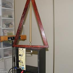 Test jig is to hang boards and Lev Antenna