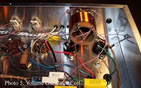 volume oscillator coils