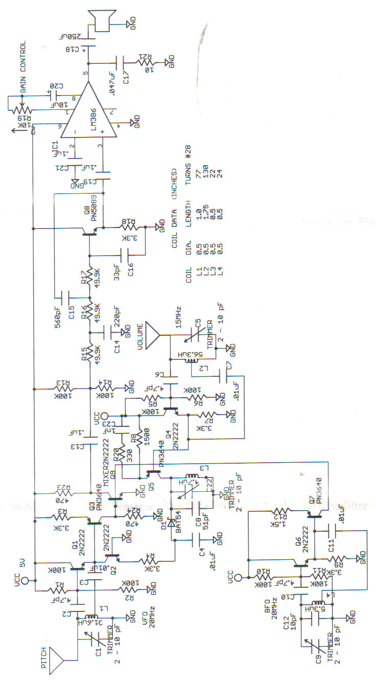 Theremin World Schematics Circuit Maker Schematic To Pcb Another