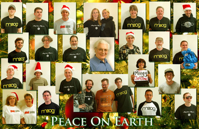 Moog Holiday Card 2007