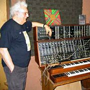 Moog with moog patch synth