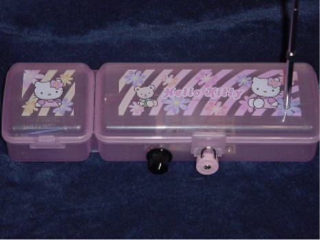 hello kitty box theremin